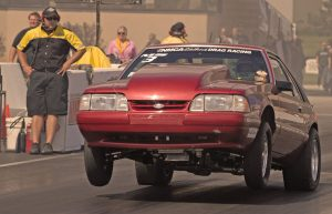 Ford Mustang drag racing - 9 Inch Ford rears